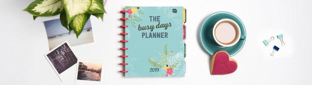 busy days planner discbound