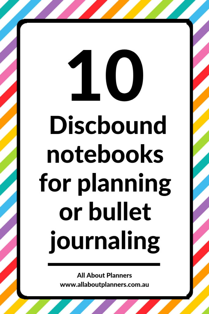 discbound notebooks for planning or bullet journaling review pros and cons arc happy planner mambi inkwell press roundup video