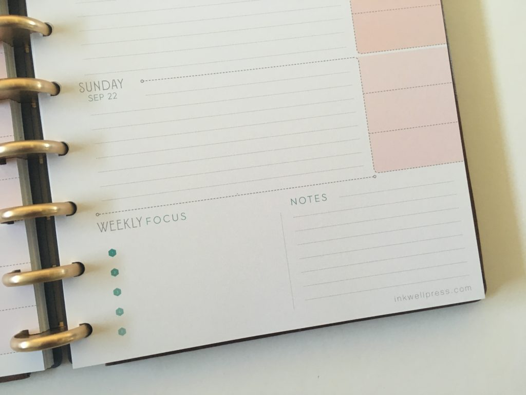 inkwell press flex discbound 360 weekly planner review