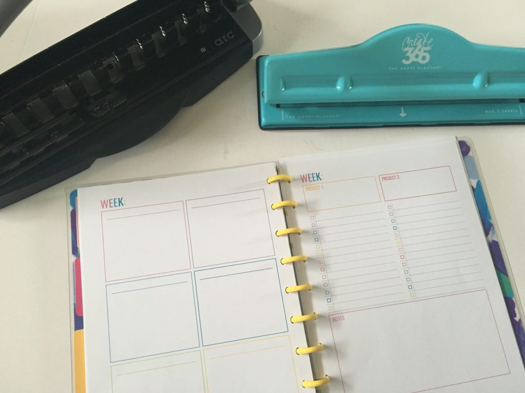 MAMBI Happy Planner Discbound Punch versus the ARC (are they compatible?)