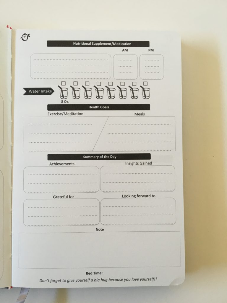 penguin planner daily planner 2 pages per day undated no schedule checklist water tracker health gratitude must do should do family relationships personal vitamins