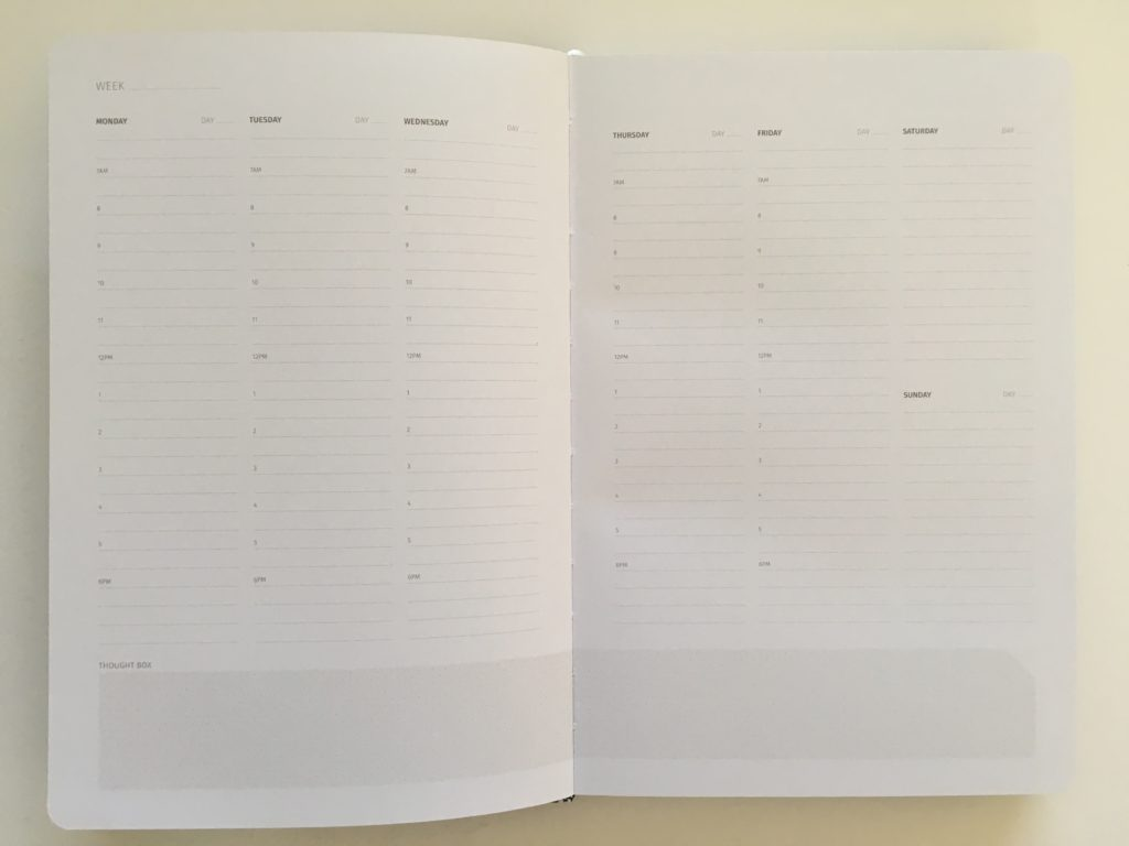 zeito productivity planner monday week start undated pros and cons video review