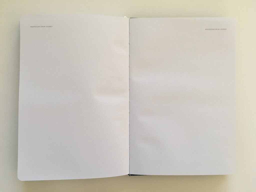 zeito productivity planner review notes page