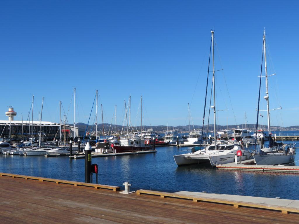 Tasmania Hobart harbour constitution dock