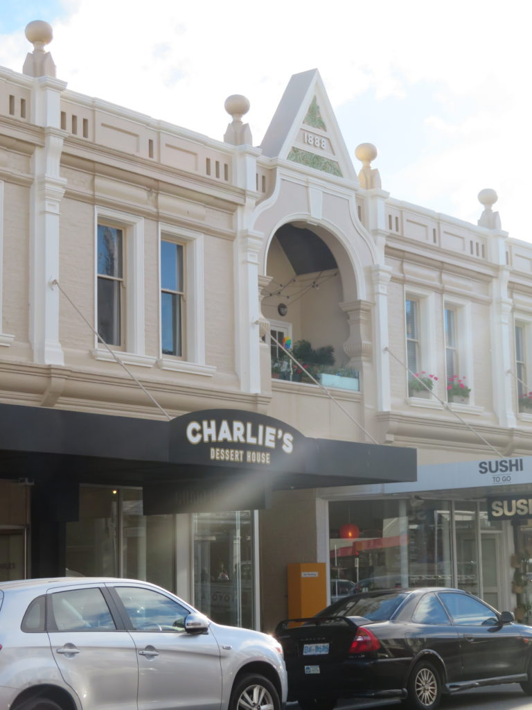 charlies dessert house Launceston tasmania ireview