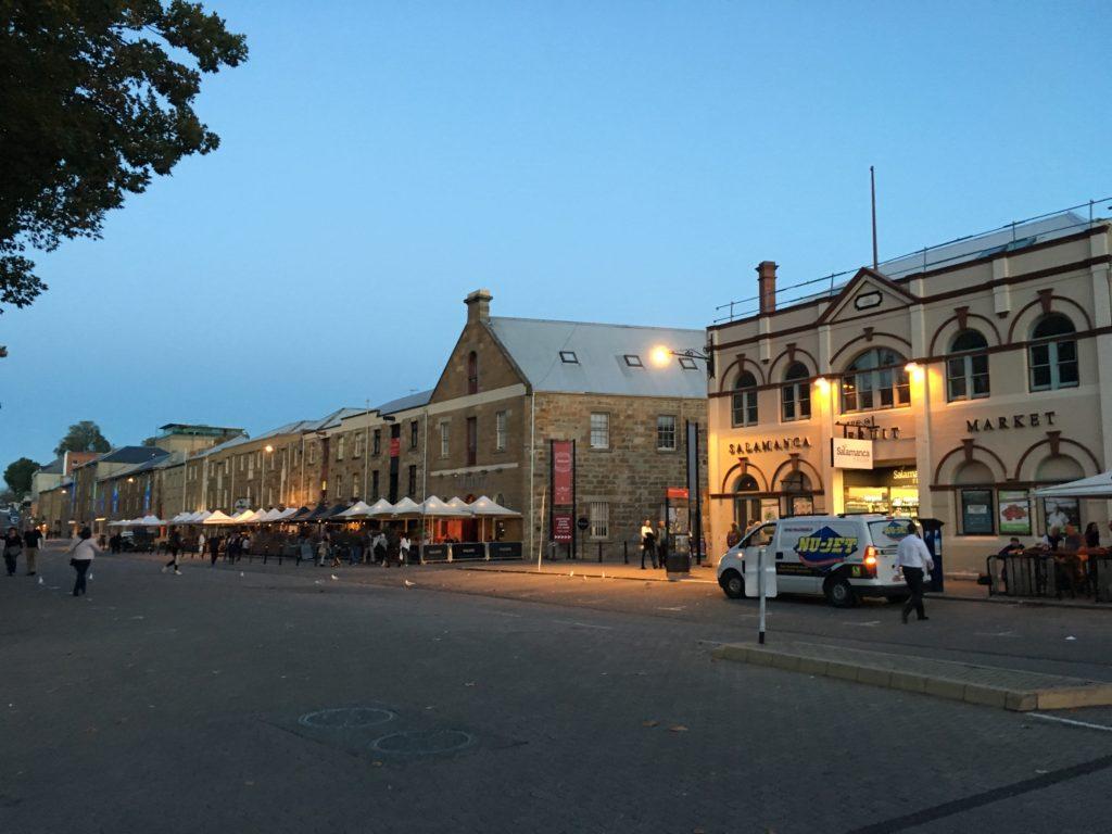 Hobart salamanca at night 2 day itinerary things to see and do