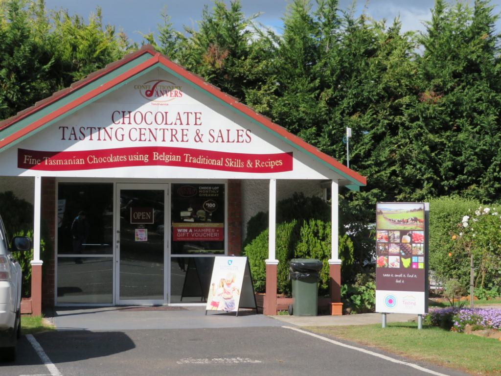 House of Anvers Fudge tasmania taste trail chocolate factory gelato