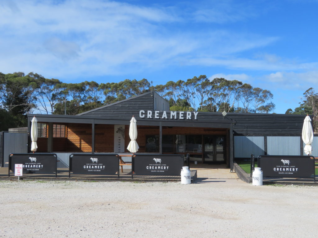 Van Dieman's Land Ice Creamery tasmania taste trail north coast