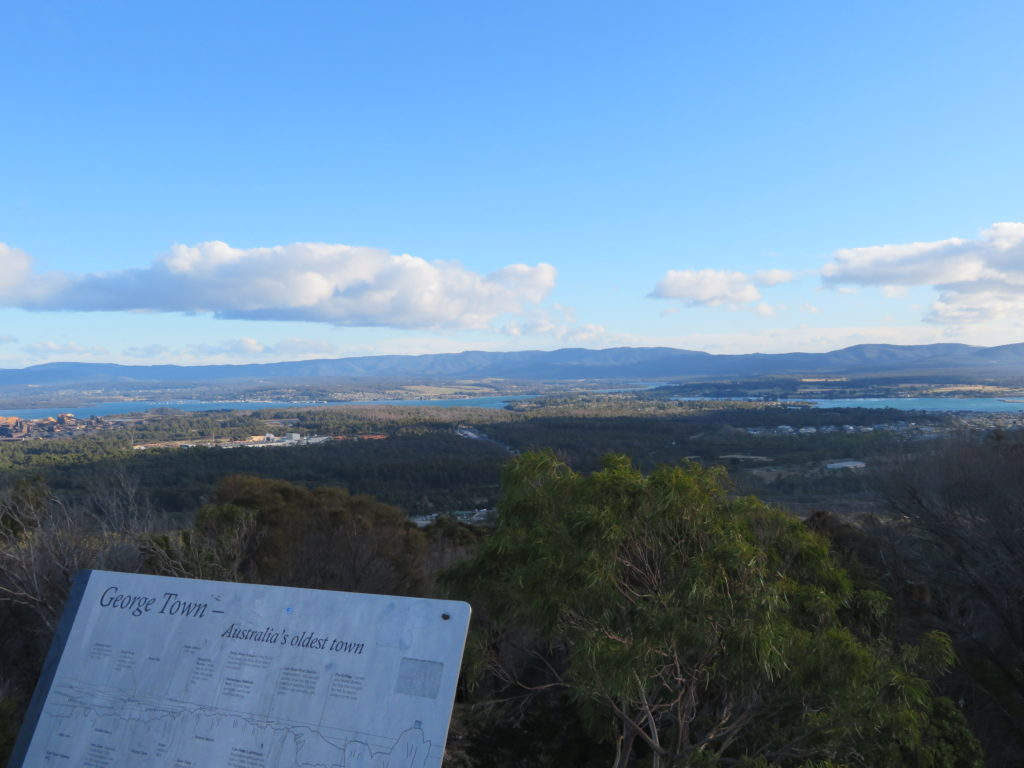 George town tasmania north coast itinerary things to see and do lookout mount geroge photo stop