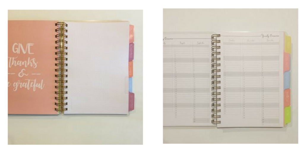 Mulberry POP Planners, planners made in australia, weekly vertical layout, monthly layout