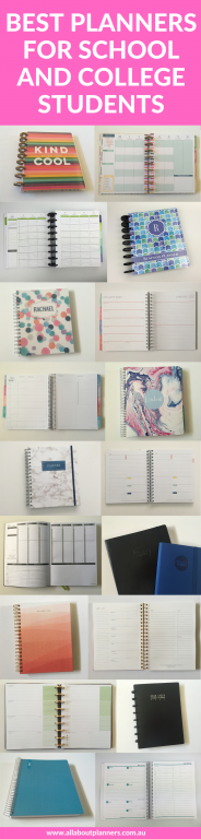 best planners for school and college students roundup tips all about planners daily weekly monthly