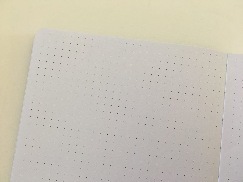 buke stationery dot grid notebook review 180gsm thick paper no ghosting or bleed through pen testing hardcover cheap best quality paper value for money bright white_08