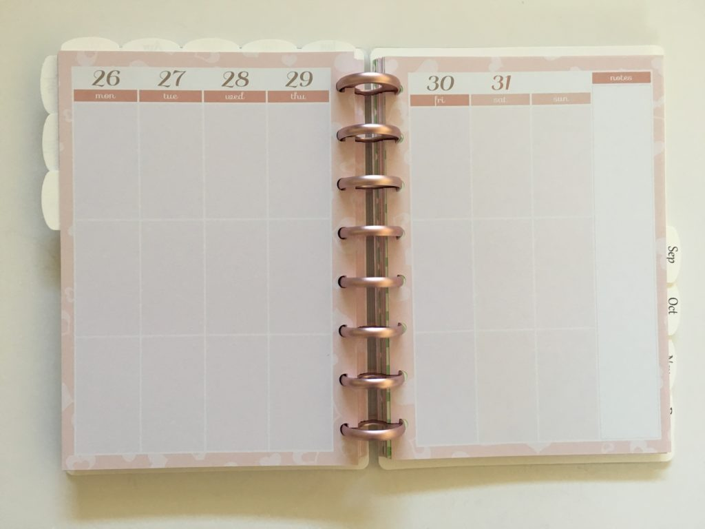 discagenda diva a5 planner review dokibook vertical weekly 3 sections per day