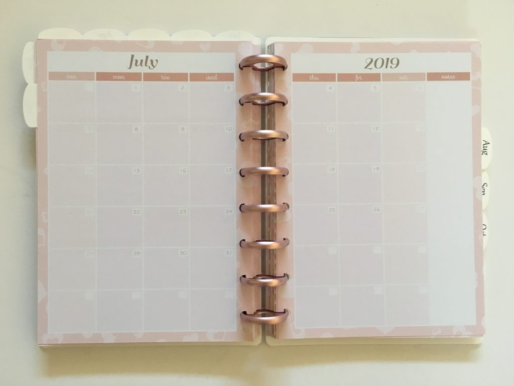 discagenda monthly planner review pros and cons a5 page size aluminium rose gold discs