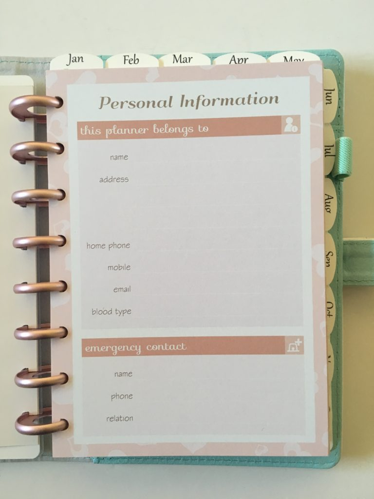discagenda planner review diva a5 video
