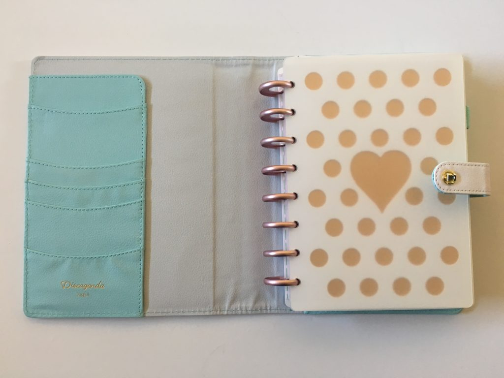 dokibook discagenda planner review pros and cons quality tabs weekly spread rose gold video cover