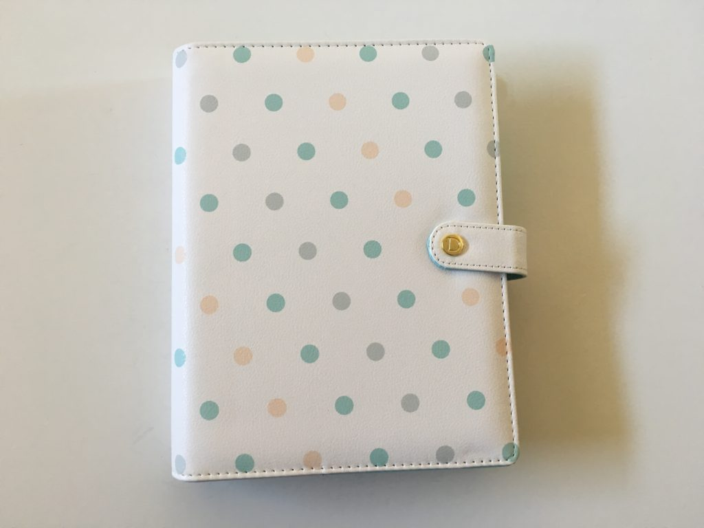 dokibook discagenda planner review pros and cons quality tabs weekly spread rose gold video wrap around cover