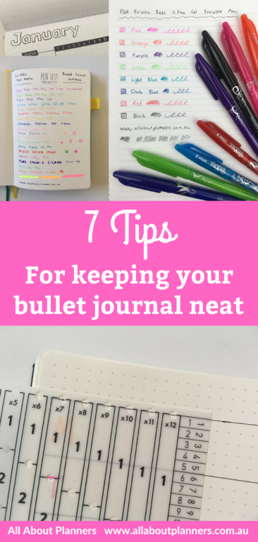 how to get the most out of your bullet journal tips inspiration ideas time saving bujo supplies stencil erasable pens washi tape pen testing all about planners