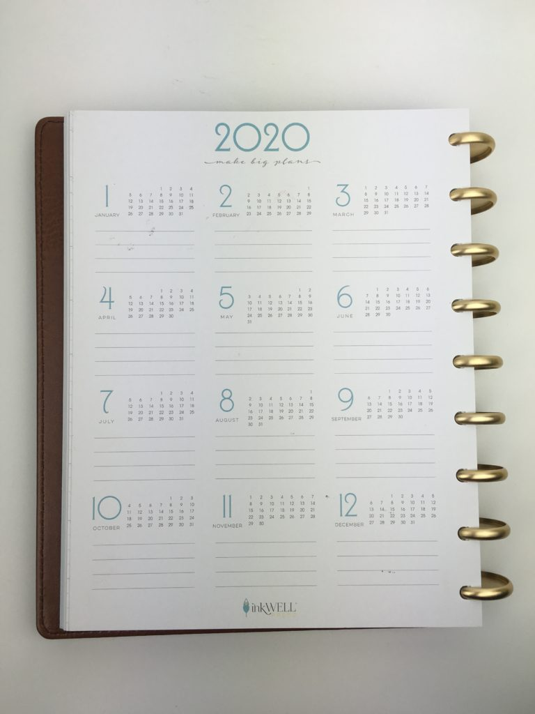 inkwell press weekly planner review
