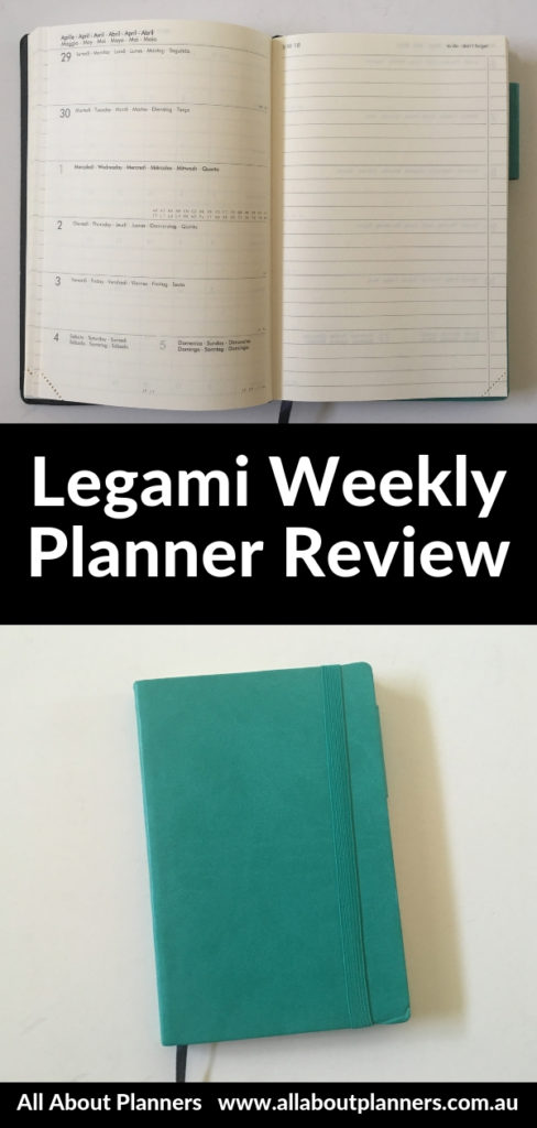 legami weekly planner review pros and cons video pen test cheaper alternative to moleskine leuchtturm 1917