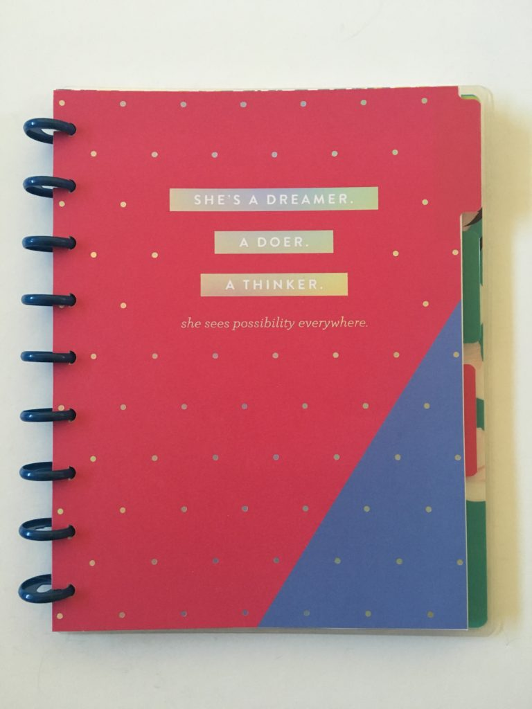 mambi happy planner dashboard layout undated refill pack insert review pros and cons