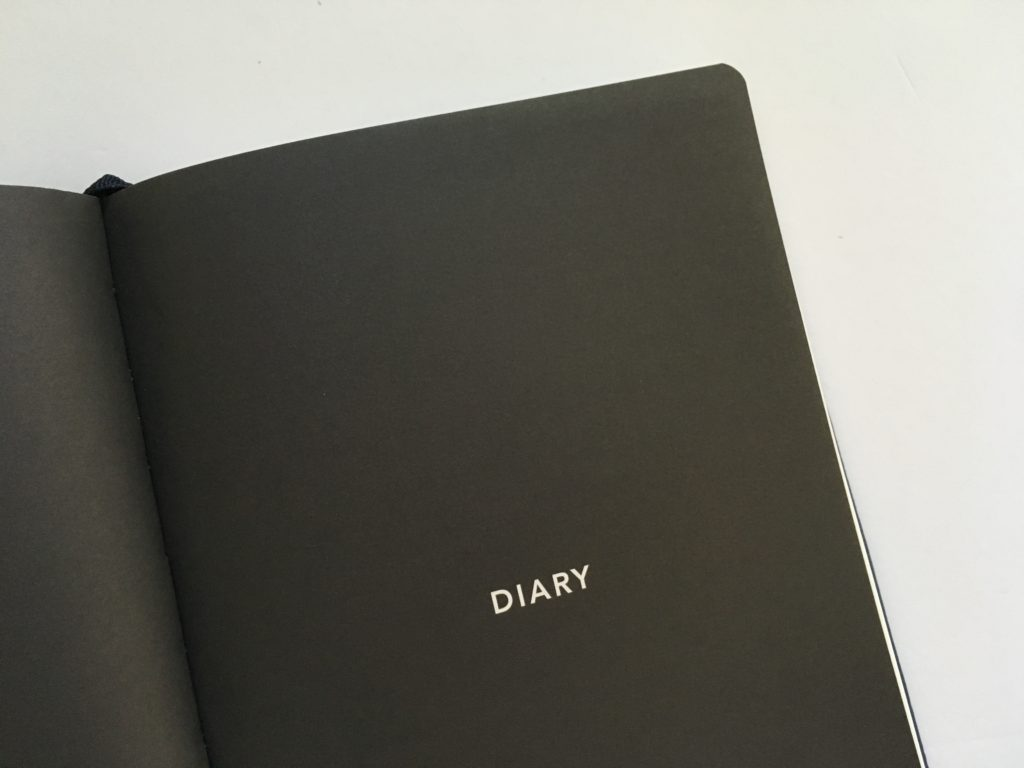 mi goals planner horizontal monday start diary cover page hardcover