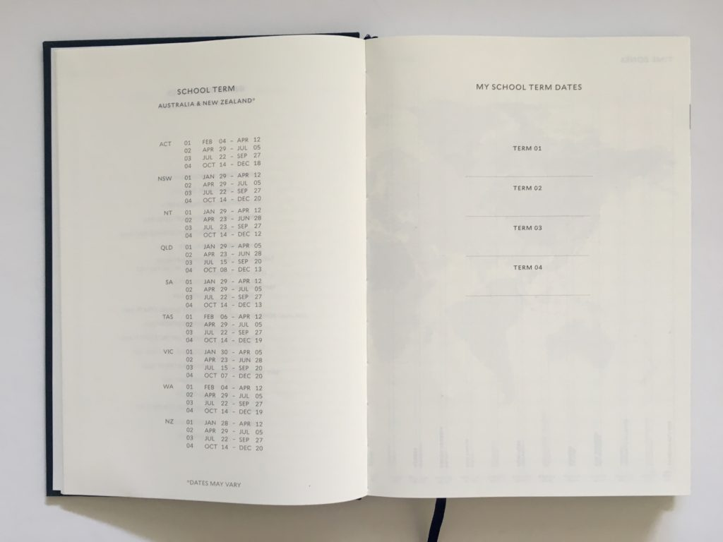 milligram planner review australian a5 size sewn bound minimalist gender neutral