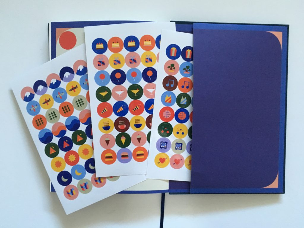 milligram planner review icon stickers gender neutral