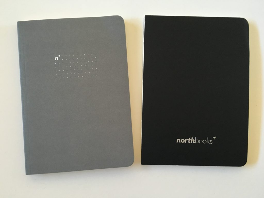 northbooks dot grid notebook review a5 size minimalist gender neutral pen testing paper quality lay flat binding