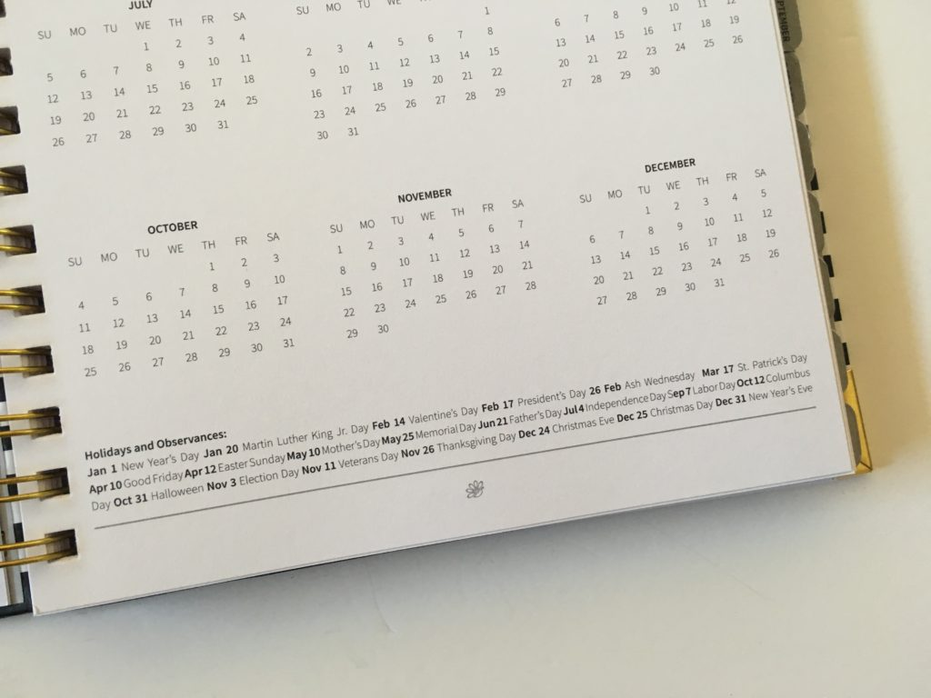 peacock paper appointment planner review annual dates