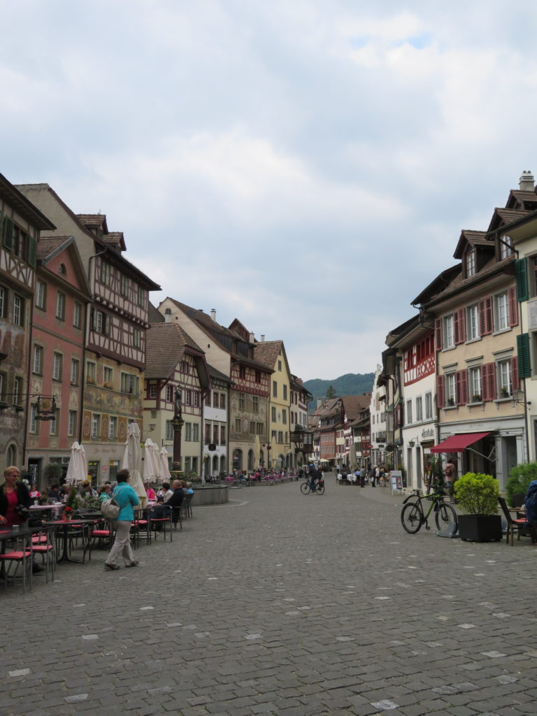 Stein am Rhein switzerland germany border cute town close to rhine falls half day trip from zurich review europe