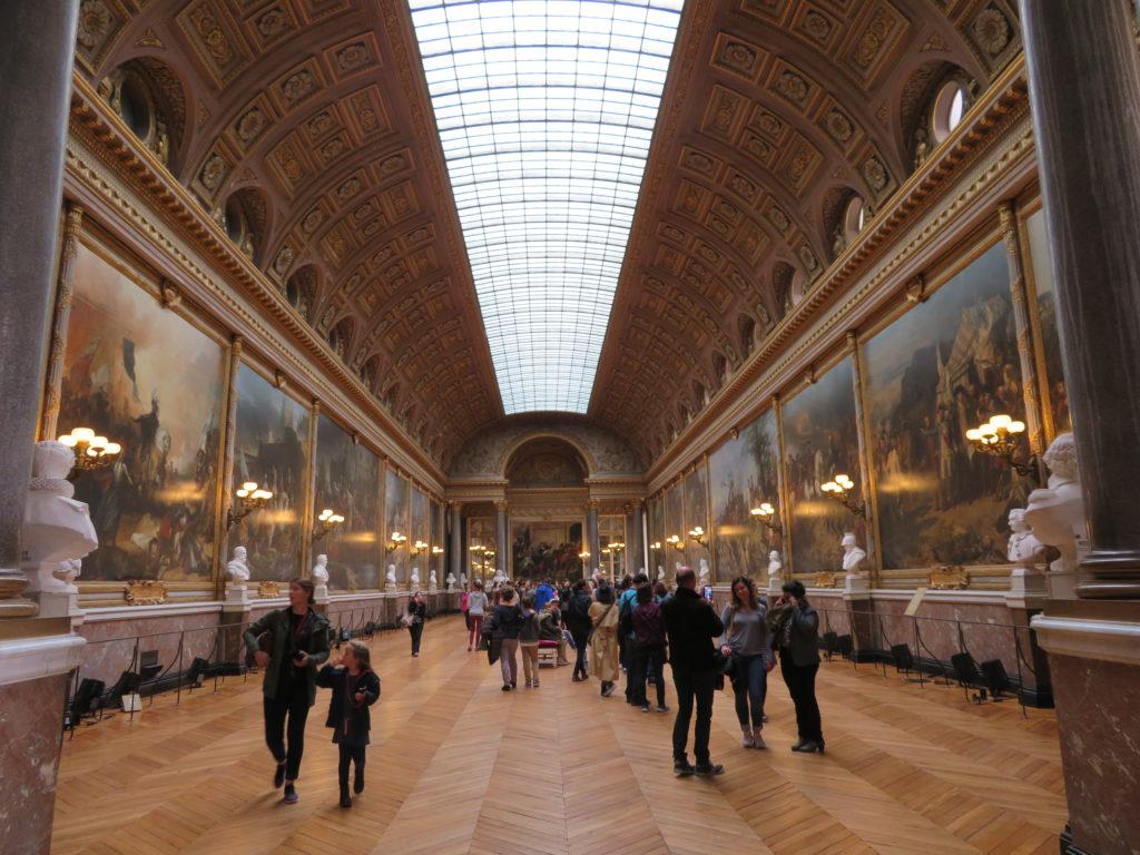 Versailles day trip from paris interior photos