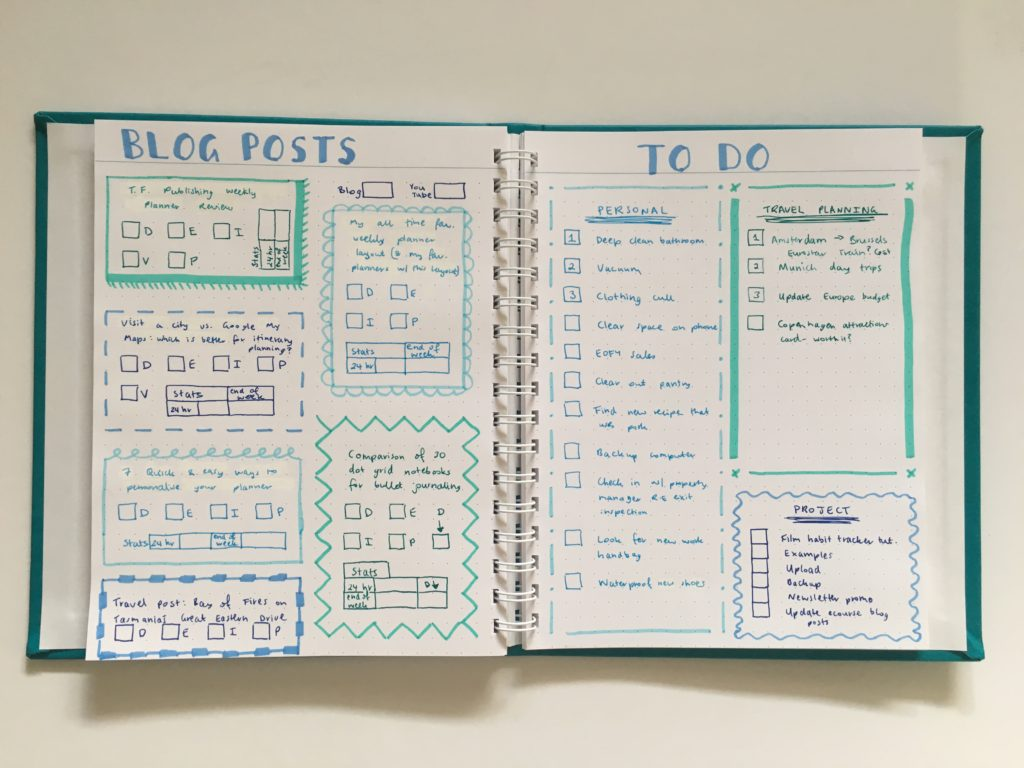 agendio dot grid notebook bullet journal pros and cons