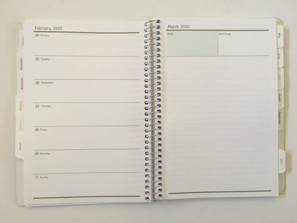 agendio weekly planner horizontal monday start minimalist custom project planning lined notes to do video review honest opinion