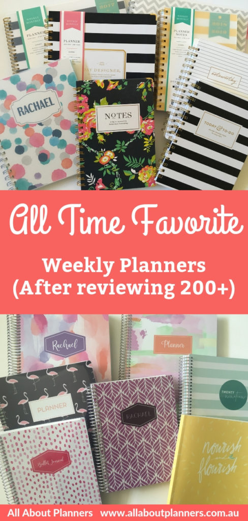 best weekly planners all time favorite all about planners blue sky plum paper planner recommendations all about planners tips