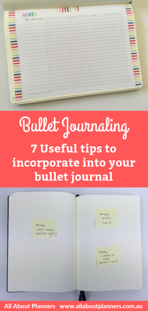 bullet journal tips ideas helpful useful beginner newbie quicker easier bujo planner addict inspiration hacks