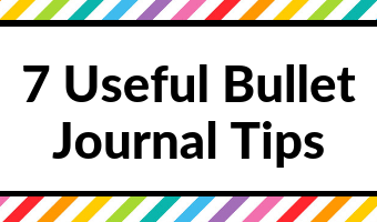 bullet journal tips ideas helpful useful beginner newbie quicker easier bujo planner addict inspiration