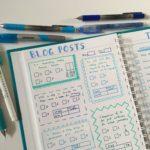 Bullet journaling in my custom Agendio dot grid notebook