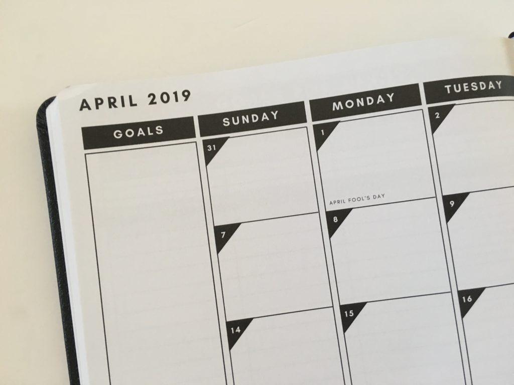christian daily planner monthly calendar