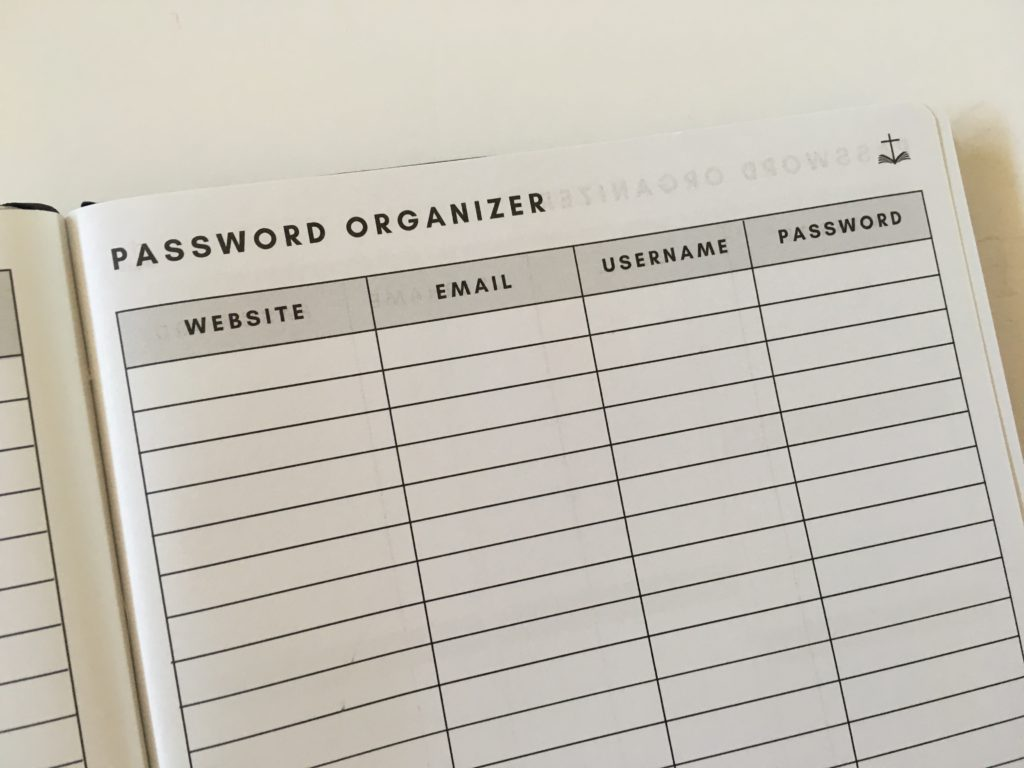 christian daily planner review password orrganizer