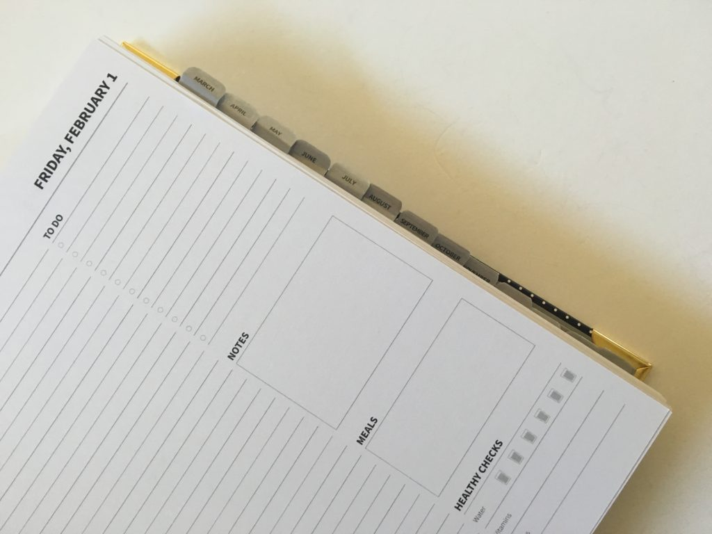 peacock paper planner review monthly tabs pros and cons simple minimalist