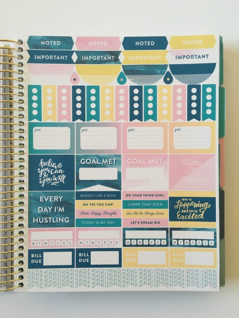 recollections budget planner decorative planner stickers