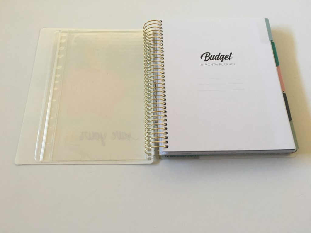 recollections budget planner review undated pocket folder monthly budgets video review