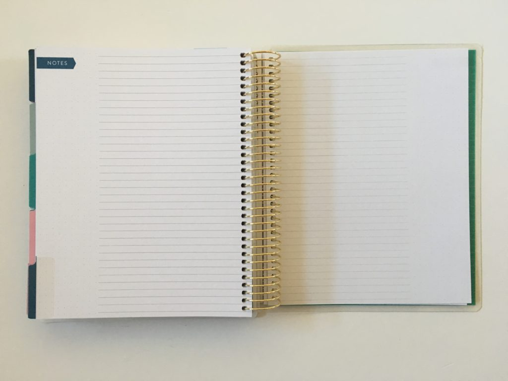 recollections planner review lined dot grid medium page size 7 x 9 inch