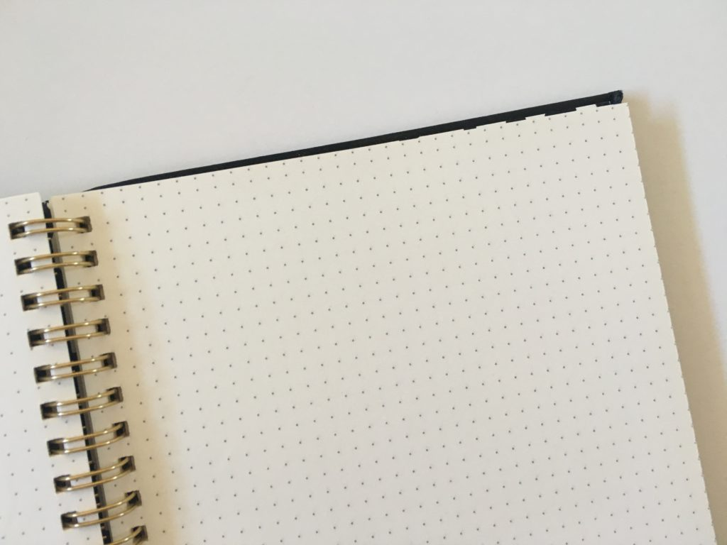 typo dot grid notebook review for bullet journal australia aussie planner addict