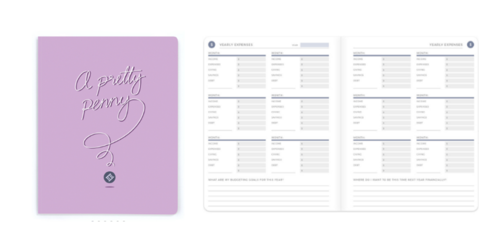 Plum paper lifestyle journal budget, budget planner, monthly budget planner, savings tracker