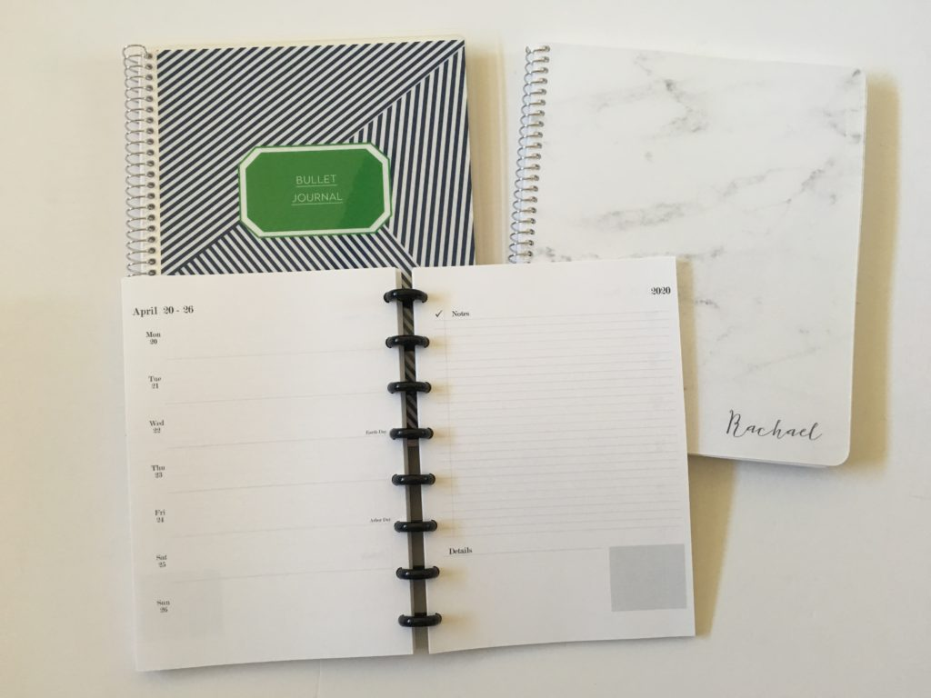 Practical paper co planner haul a5 unpunched custom bullet journal dot grid notebook weekly planner
