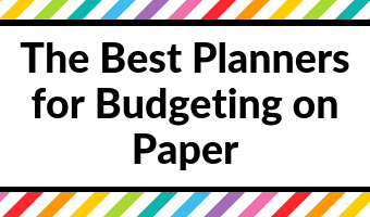The Best Planners for Budgeting on Paper (Roundup)