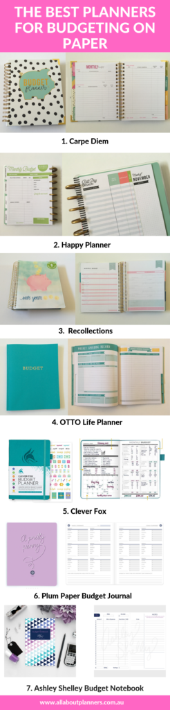 best planners for budgeting on paper recommendations weekly monthly all about planners tips inspiration reviews