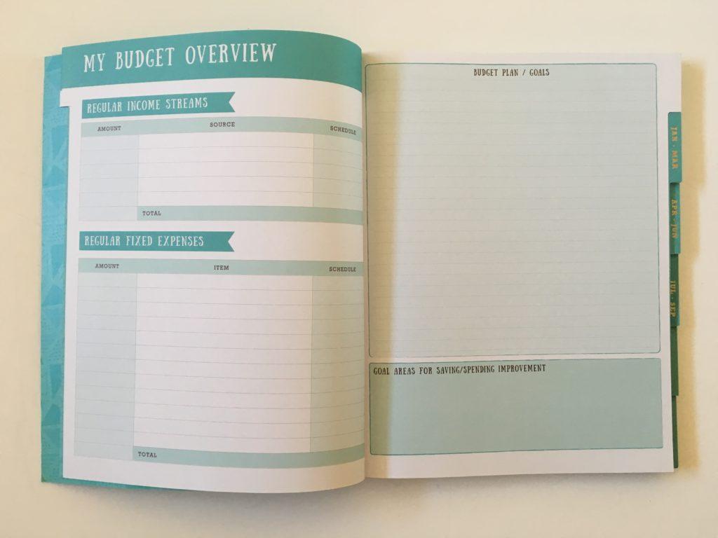 budget planner australia otto officeworks aqua gold foil income expenses tracker goals bills